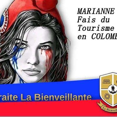 MARIANNE Aujourd'hui Veux vous Faire Visiter un peu de la COLOMBIE