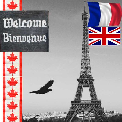 Vouloir être bilingue French-Anglais au CANADA