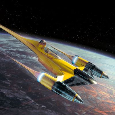 Preview : Naboo Royal N-1 Starfighter