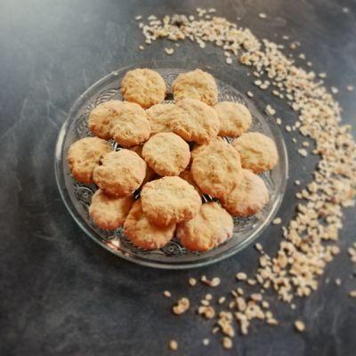 Biscuits p'tit déj' au muesli