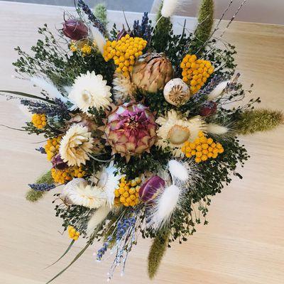 Nos collections de fleurs séchées