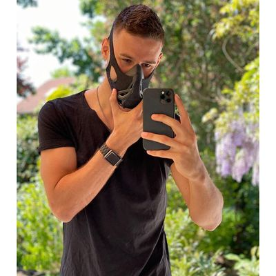 "Roman (Gymclock, Mannheim, Germany) ""Ok I just found my corona mask 😷🙌🏽 Got your mask already?!"" #MandatoryMasks #SecondWave (12/05/2020, actualisé le 02/07/2020))"