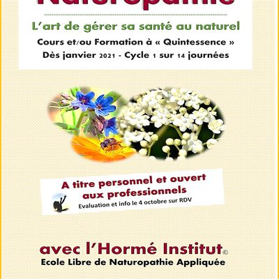 Formation naturopathie