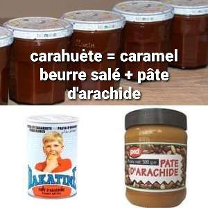 La crème de carahuète