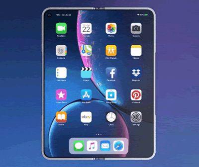 L'iPhone pliable est composé de deux écrans séparés reliés par une charnière