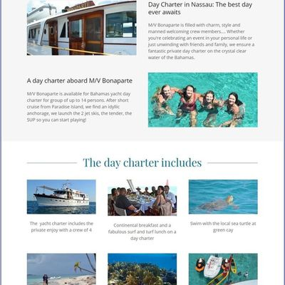 Begin Planning Your Bahamas Yacht Holidays with Our Day Charter in Nassau