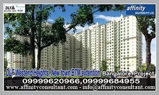 Original Property Booking>>$$09999620966!DLF,BTM Extension Westend Heights (Projects) Bangalore