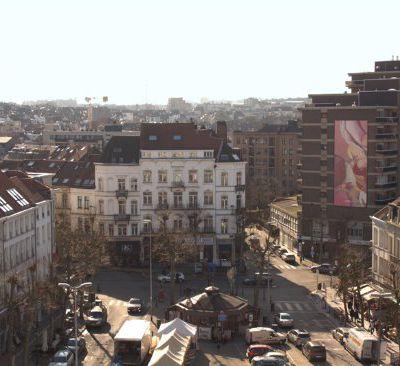 Guillaume Bottazzi à Bruxelles, place Jourdan