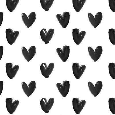 Black & white heart