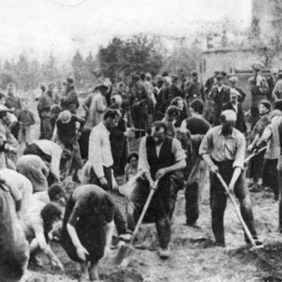 A la une : L'ivresse du génocide ou comment les nazis célébraient la mort des juifs