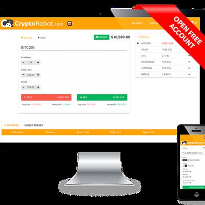 Crypto Robot - Automated Cryptocurrency Trading Signals