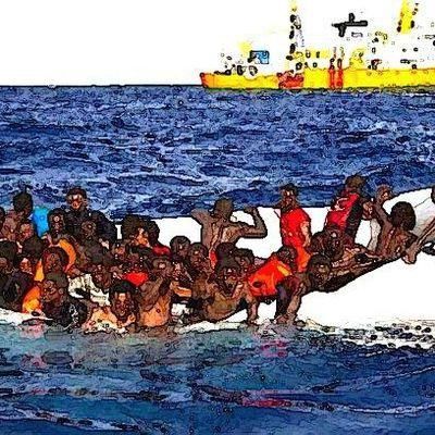 Une collusion tacite des secours humanitaires avec les passeurs criminels ?