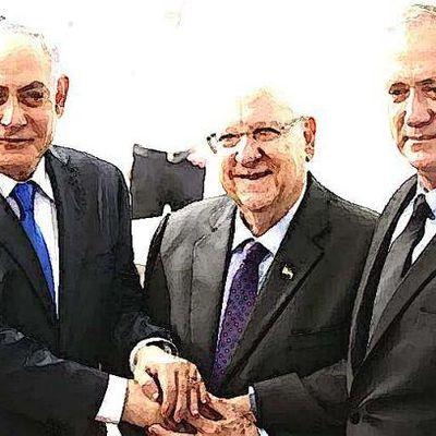 Israël 2020 : Benyamin Netanyahou vs Benny Gantz (3e round)