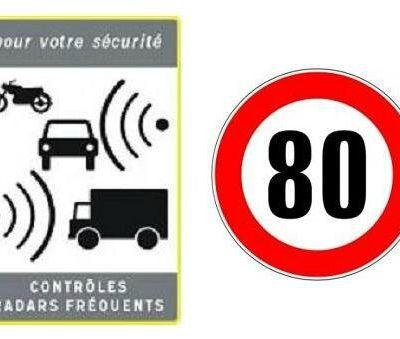 Limitation à 80 km/h : scandaleux ! (1/2)