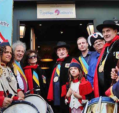 LE BONBON La République de Montmartre : l'esprit rebelle de la Butte #VeronicaAntonelli