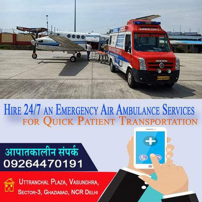 Vedanta - Offers Outstanding Air Ambulance Service in Mumbai