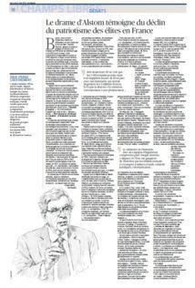 ALSTOM - GE : Scandale d'Etat
