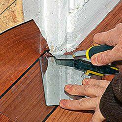 CONSTRUCTION / Réaliser un seuil de porte