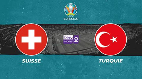 Suisse / Turquie - Euro 2020. Groupe A.
