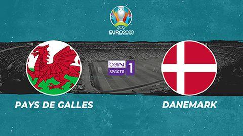 Pays de Galles / Danemark - Euro 2020. 8e de finale.