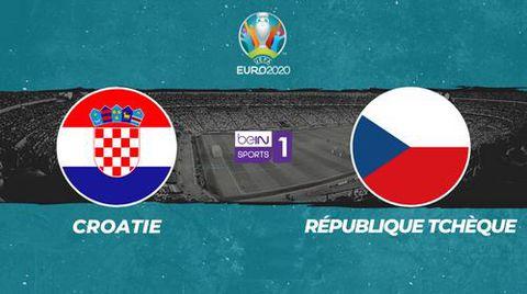 Croatie / République tchèque - Euro 2020. Groupe D.