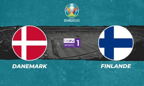 Danemark / Finlande - Euro 2020. Groupe B.