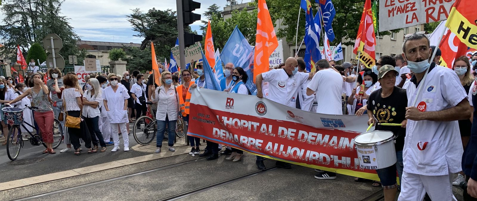 Grève et manifestation le 30 juin !