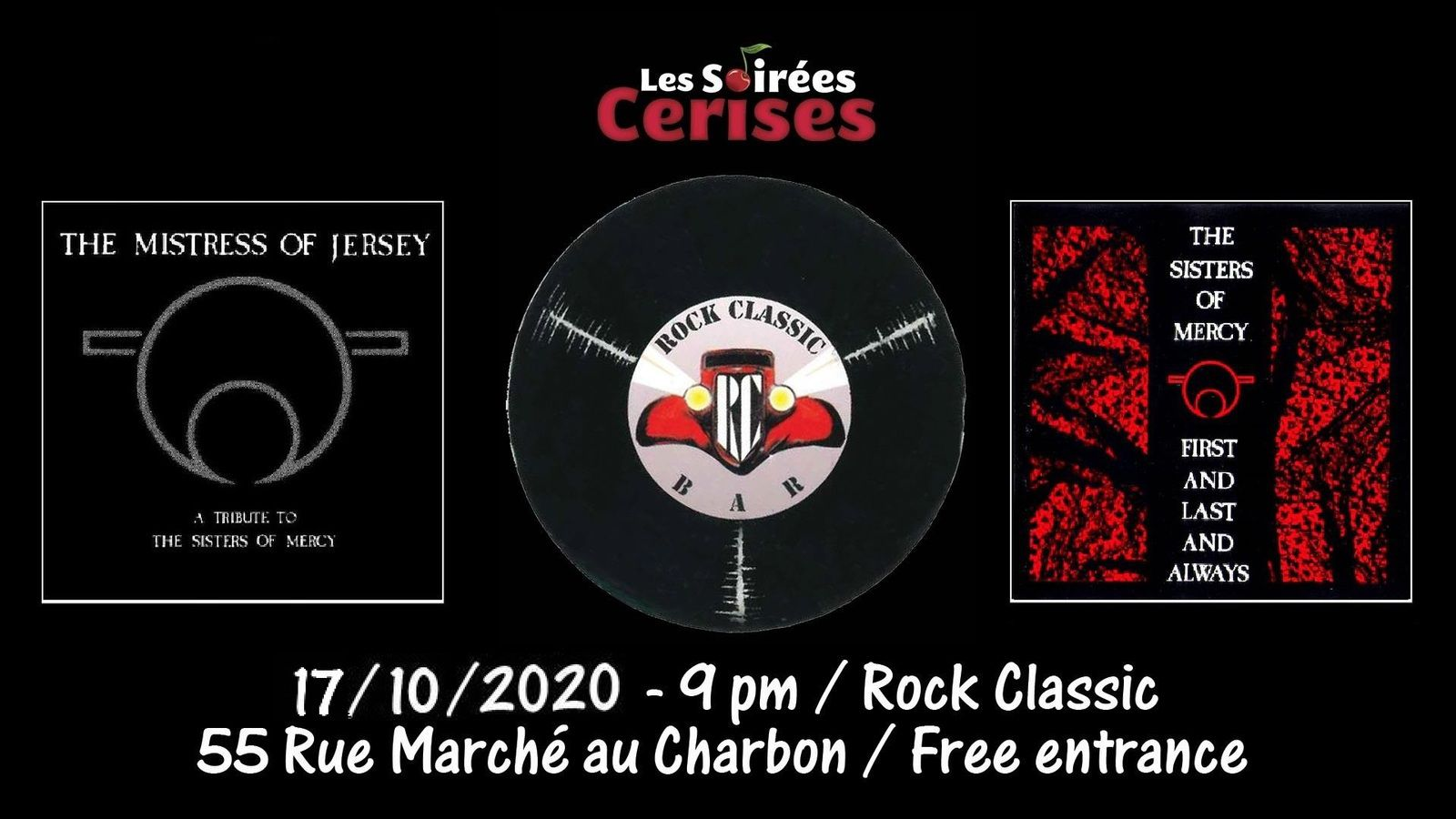🎵 The Mistress of Jersey performing 'First and Last and Always' @ Rock Classic - 17/10/2020 - Entrée gratuite / Free entrance