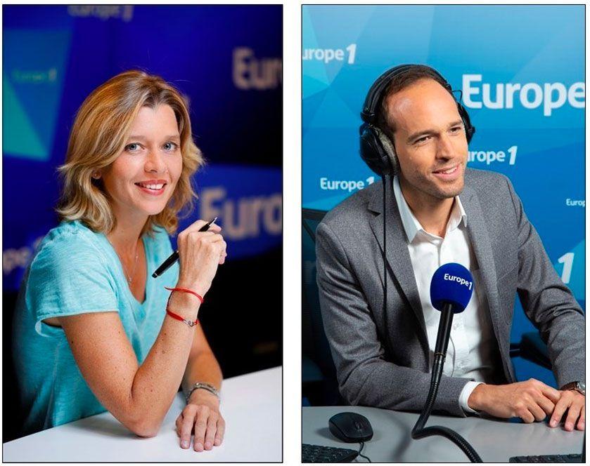Wendy Bouchard et Sébastien Krebs aux commandes de la soirée électorale du 2nd tour des Municipales sur Europe 1