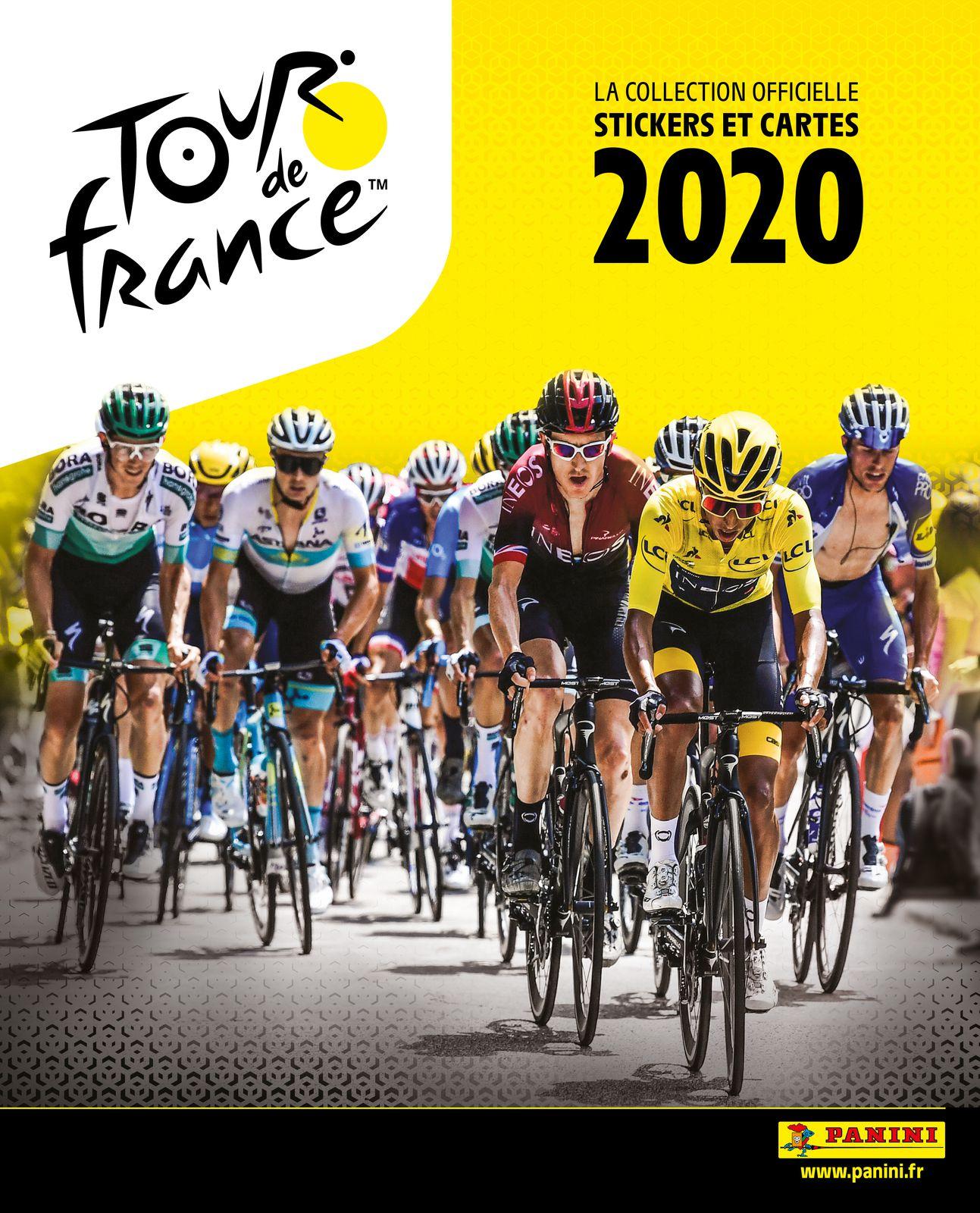 Panini lance un nouvel album de stickers pour le Tour de France 2020.