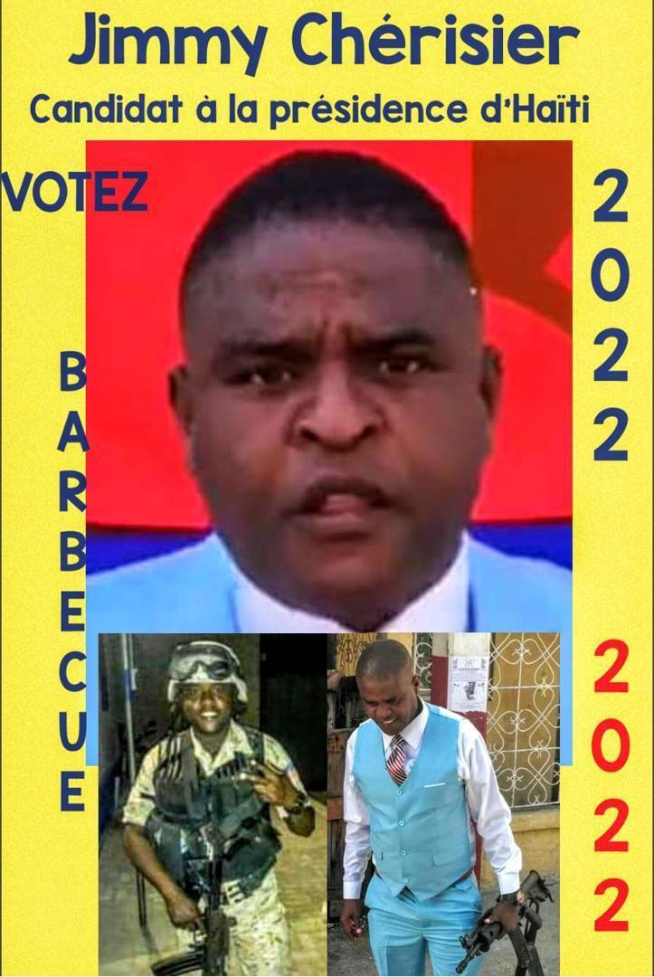 HAITI/ELECTIONS. Après le bandi legal et l'homme aux multiples identités, Barbecue bandit illégal, candidat à la présidence. J'avais pensé...