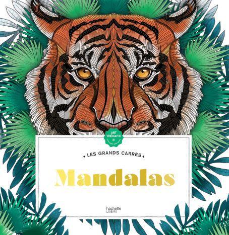 Nouveau ! Les Grands Carrés - Mandalas