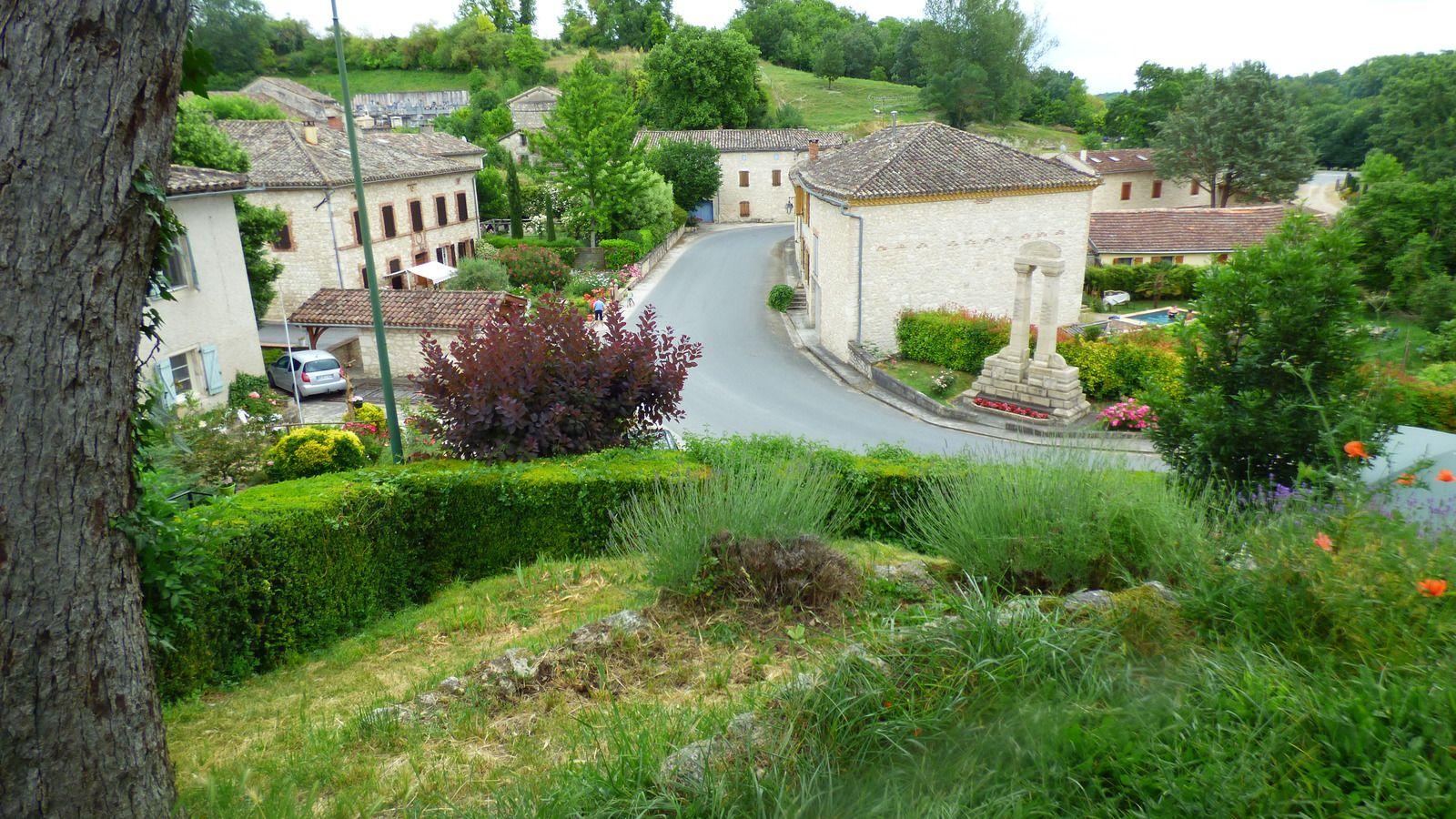 Le village de Vieux et son lavoir/ Tarn.
