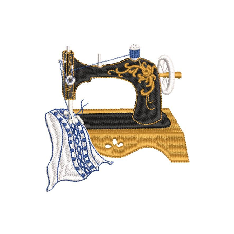 BRODERIE MACHINE A COUDRE