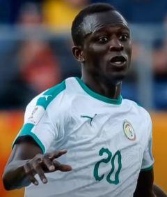 Une photo du footballeur Amadou Ciss